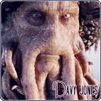 Davy Jones (Pirates of the Caribbean) (Characters: Book/Movie)