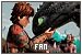 How to Train Your Dragon: Haddock III, Hiccup Horrendous and Toothless the Dragon