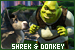 Shrek series: Donkey and Shrek