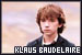 Series of Unfortunate Events, A: Baudelaire, Klaus